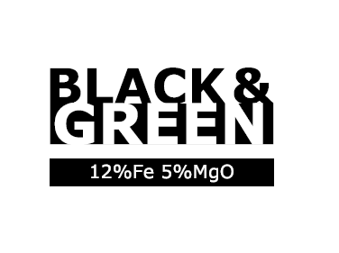 Black and Green Logo