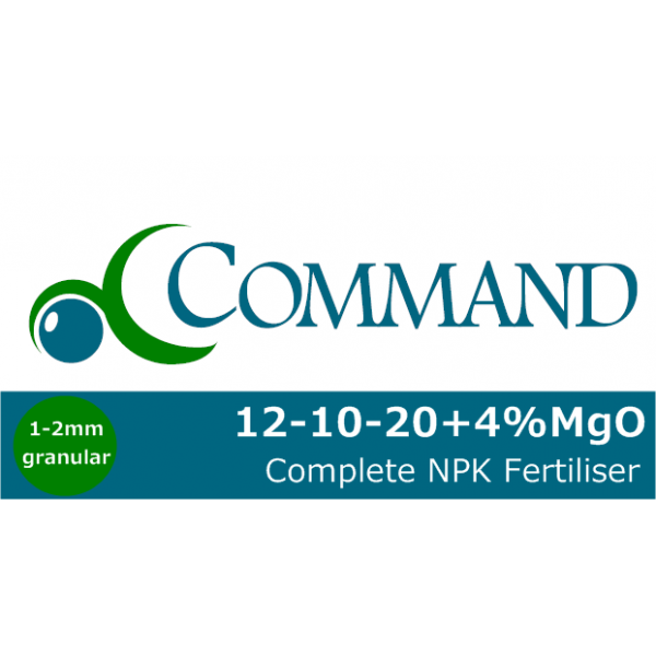 Command 12-10-20+4%MgO Fert Logo