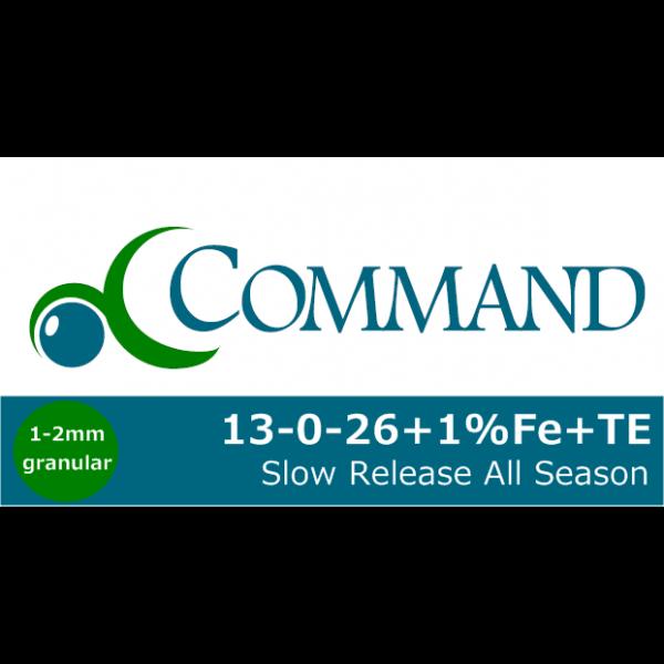 Command 13-0-26+1+TE Fert Logo