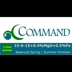 Command 15-6-15 balanced Fert Logo
