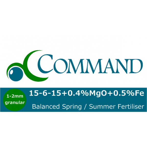 Command 15-6-15 balanced Fert Logo