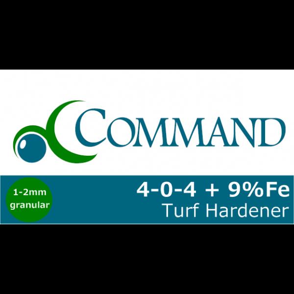 Command 4-0-4+9% Turf Hardener Logo