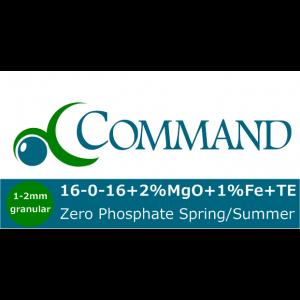 Command Zero Phosphate 16-0-16 Fert Logo