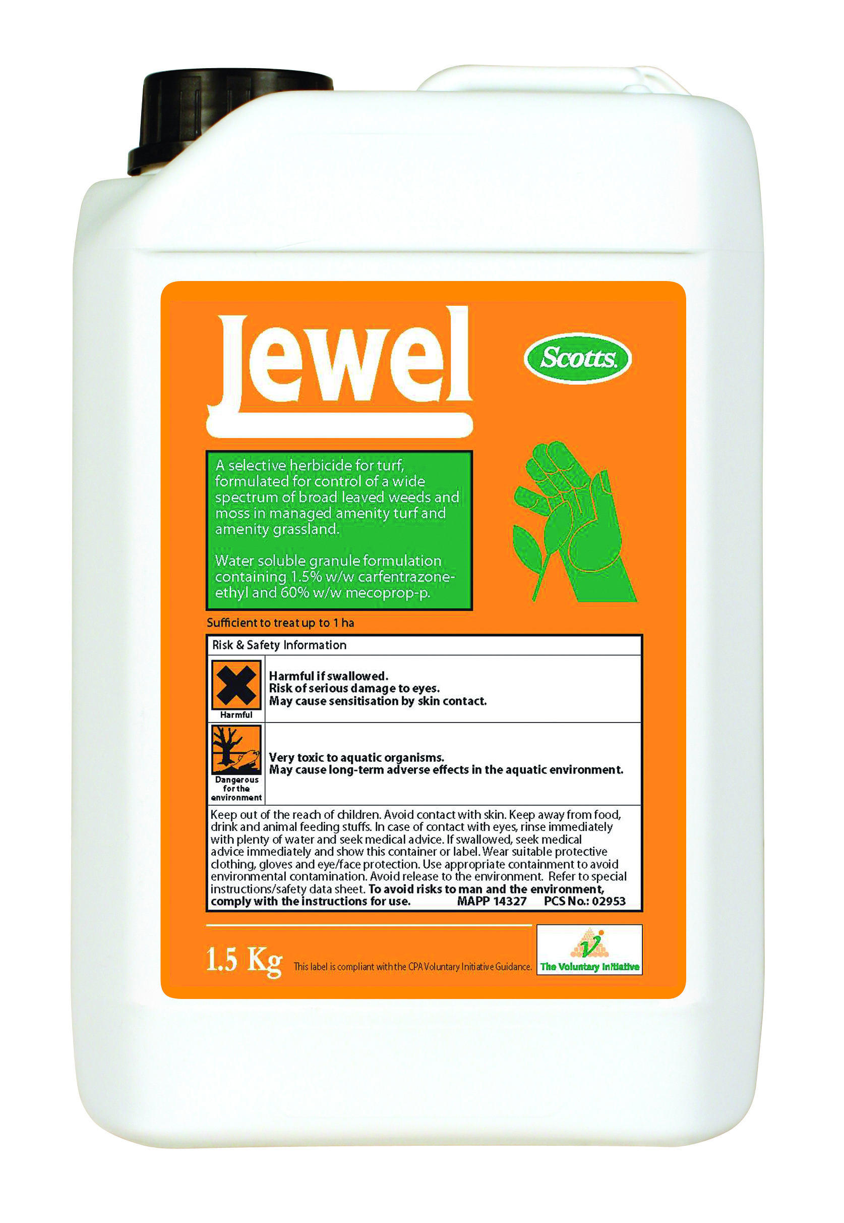 Jewel Herbicide and Moss Killer