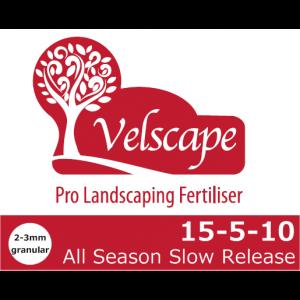 Velscape 15-5-10 all season slow release logo