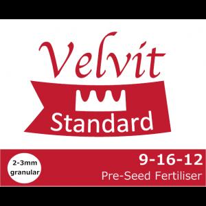 Velvit Standard preseed fert 9-16-12 Logo